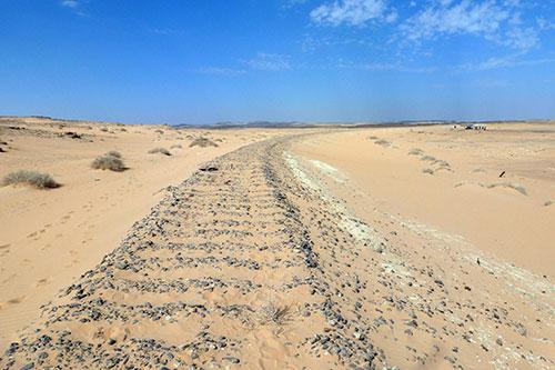 site of the 1917 Hallat Ammar train ambush