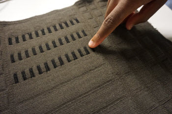 touch-sensitive fabrics