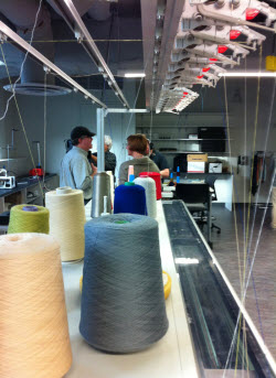 The functional fabrics research center