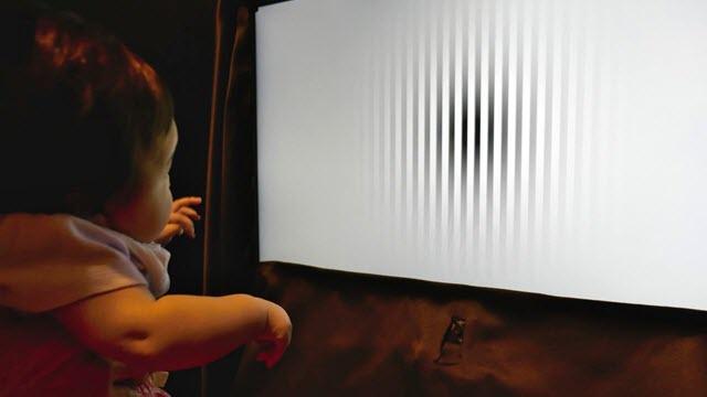 infant motion perception experiment