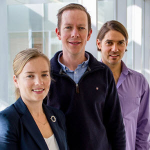 researchers Jessamy Tiffen, Stuart J. Gallagher, and Fabian Filipp