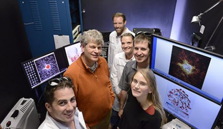 Members of the research team from UT Southwestern's Lyda Hill Department of Bioinformatics