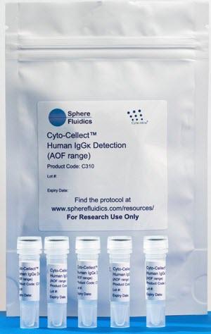 Sphere Fluidics' Cyto-Cellect™ Human IgGK Detection Kit