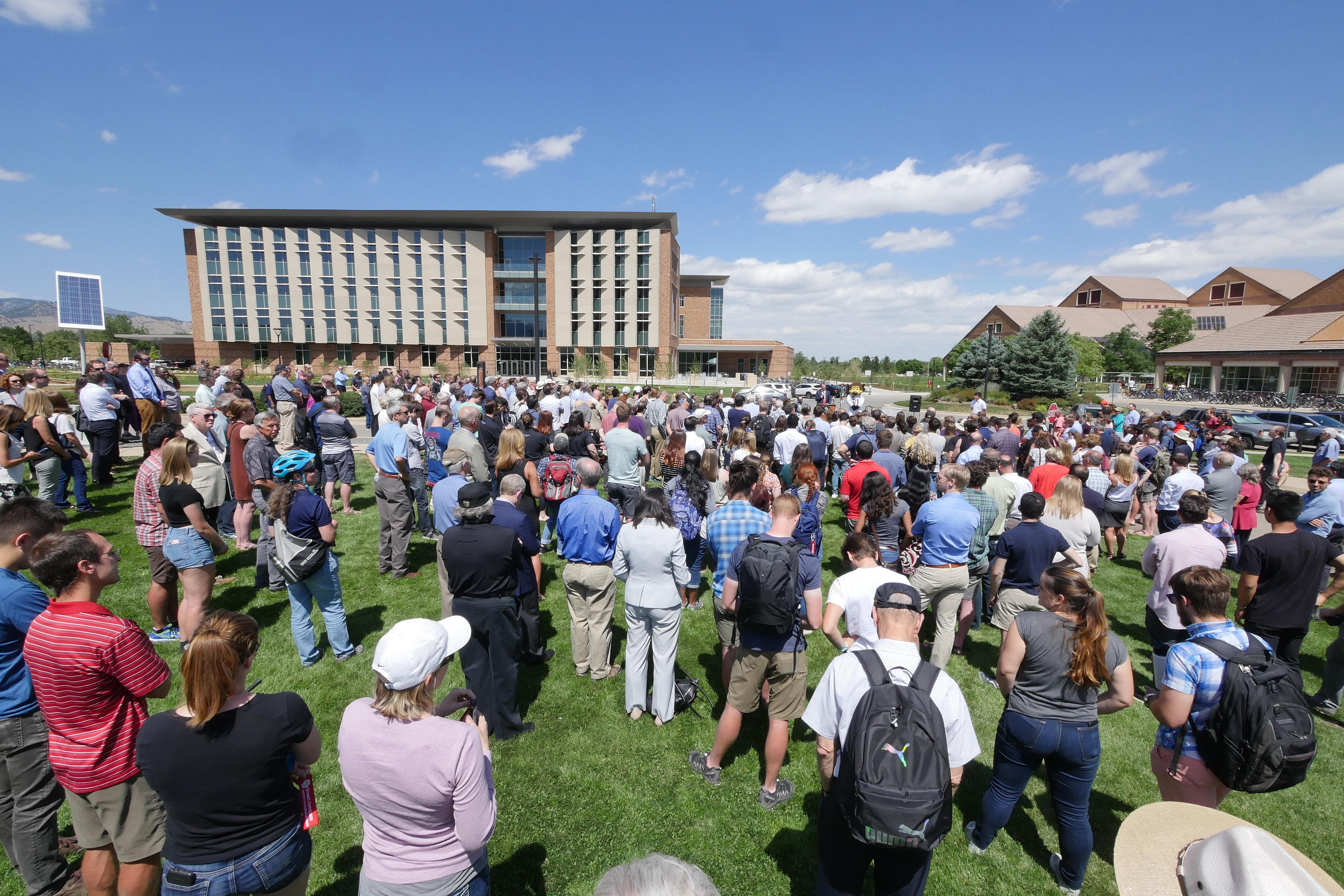 Grand opening, Aerospace Engineering Sciences building at CU Boulder