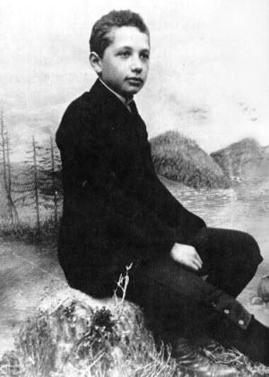 Albert Einstein in 1893
