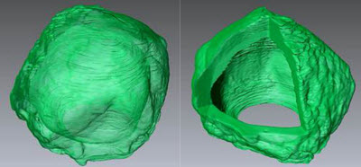 method for growing crystals in a sphere shape