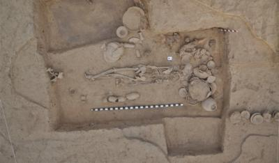 ancient DNA from woman buried at the city of Rakhigarhi