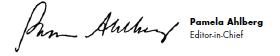 Pamela Ahlberg Signature
