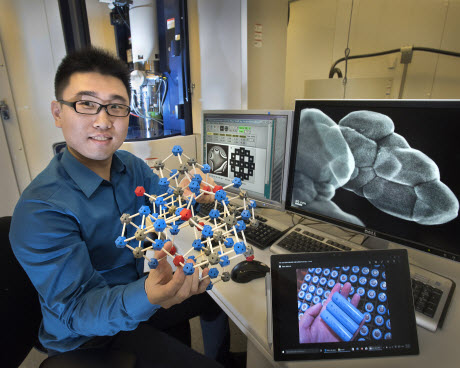 Brookhaven Lab physicist Huolin Xin