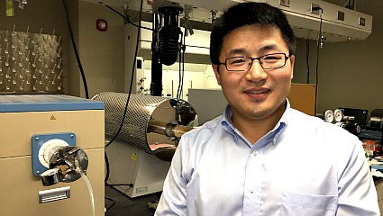Da Deng, assistant professor of chemical engineering and materials science at Wayne State University
