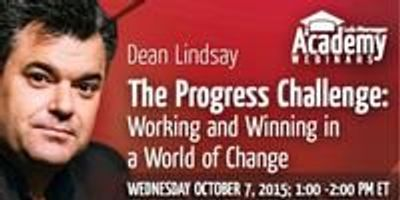 Webinar - The Progress Challenge: Working and Winning in a World of Change