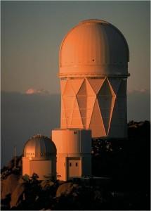 Exterior of Kitt Peak Observatory