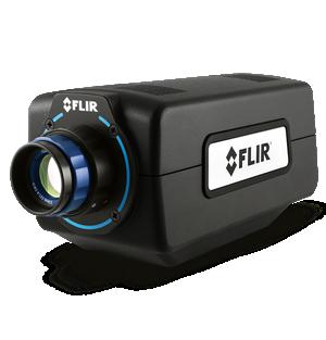 The FLIR A6260 SWIR imaging camera