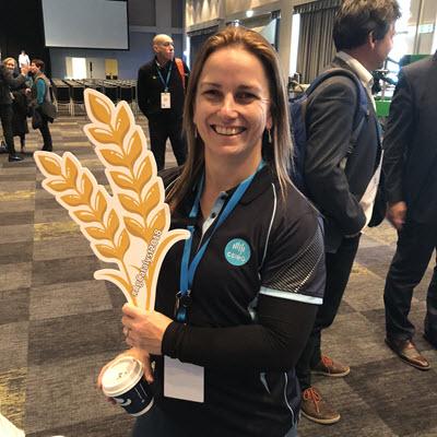 CSIRO protein analytics expert, professor Michelle Colgrave