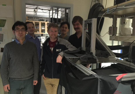 Members of the MIT team
