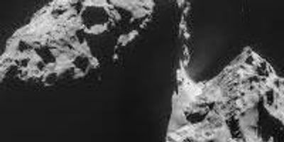 A First Peek Beneath the Surface of a Comet