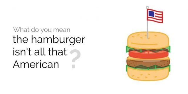 Hamburger Ingredients Origins