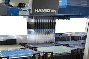 DPX Technologies Partners with Hamilton Robotics to offer an INTip™ Solution that Automates Potein Precipitation and Filtration at AACC