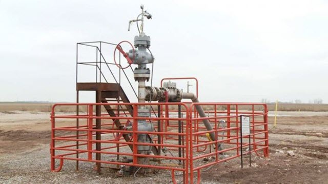 Wastewater Injection Well-Head
