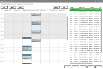 Biosero's GBG Batch PlannerTM, a plug-in for its Green Button GoTM Automation Scheduling Software Suite