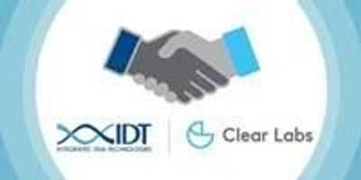 IDT and Clear Labs Ink Multi-Year Supplier Agreement to Improve Food Safety through NGS-Based Testing Technology