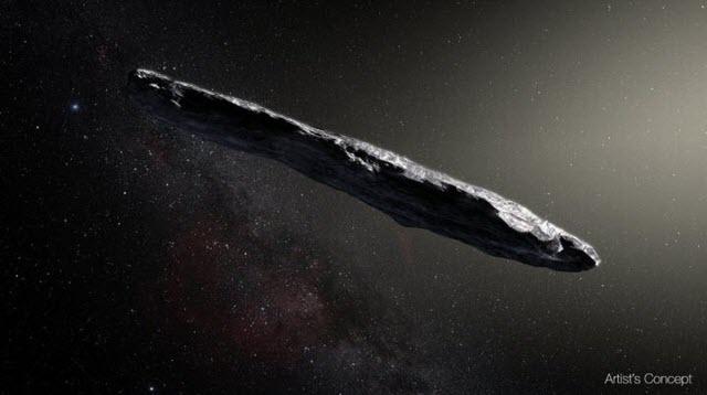Oumuamua ESO M-Kornmesser