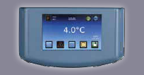 "Helmer Scientific 7"" full-color touchscreen"