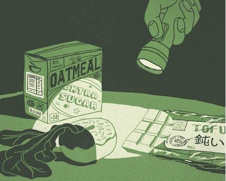 Creating virtual taste realities with light