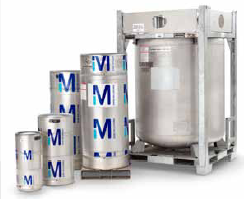 The EMD ReCycler™ system containers