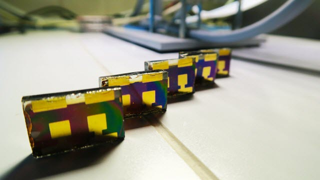 Perovskite solar cells in the lab