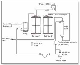 Schematic flow diagram