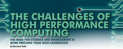 The Challenges of High Performance Computing