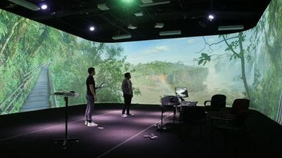 Could Human-Scale Immersive Virtual Environments Go Mobile?