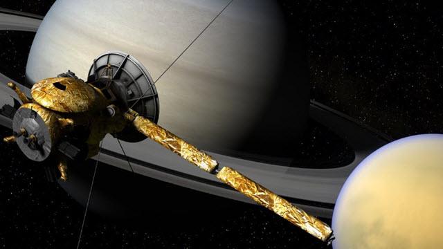 Titan, Saturn's largest moon