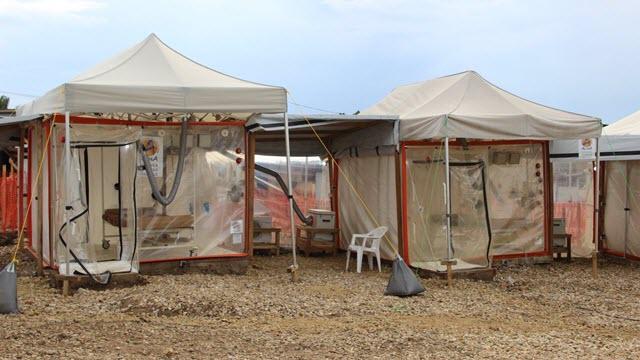 The Ebola Treatment Center in Beni, Democratic Republic of the Congo