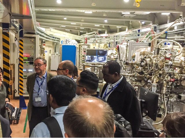 synchotron Elettra facility