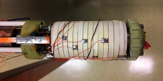 paper-thin, tape-shaped wires manufactured by SuperPower Inc.