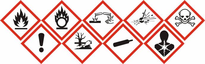 lab hazard signs