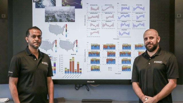 University of Central Florida coastal researchers Thomas Wahl and Mamunur Rashid