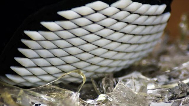 3D Printed Flexible Armor