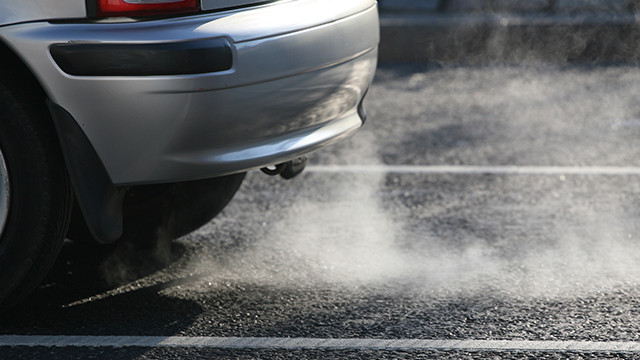emissions from car