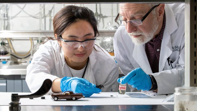 McMaster Chemists Find New Way to Break Down Old Tires into Material for New Ones