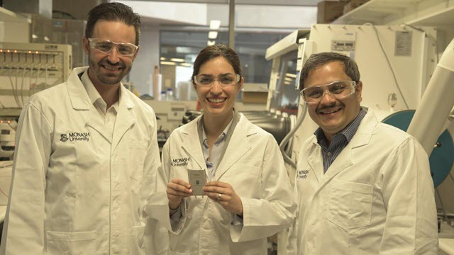 Monash University Lithium-Sulfur Battery Project Researchers