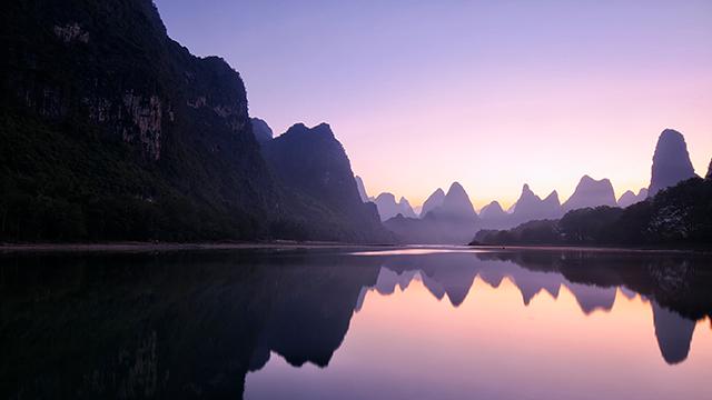Lake in China