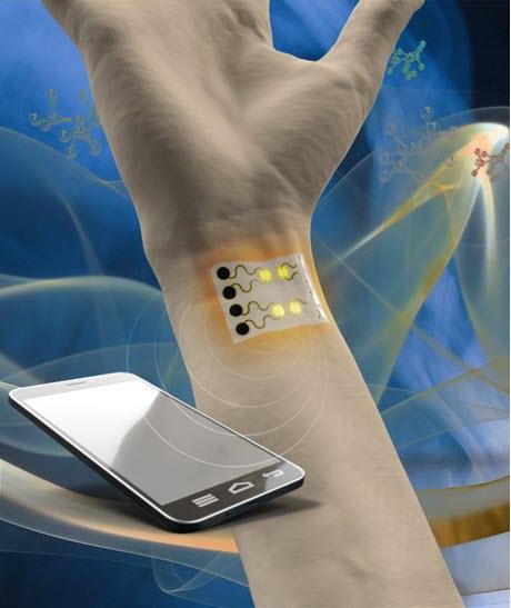 wearable gas sensor