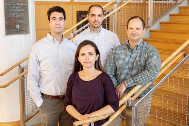 Gies College of Business professors Julian Reif, Tatyana Deryugina, David Molitor, and Nolan Miller