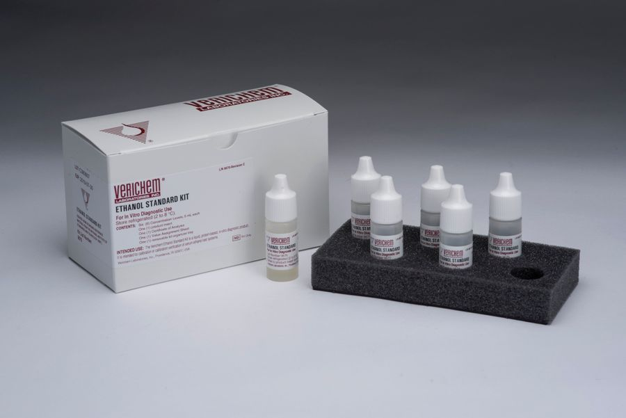 Verichem Laboratories Offers Liquid Stable Ethanol Standard Kit