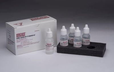 Liquid Stable, NIST Traceable, Urine Chemistry Standard Kit Offered from Verichem Laboratories