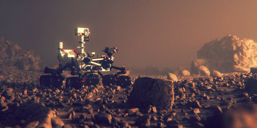 Study: Organic Molecules Found by Rover Consistent with Early Life on Mars