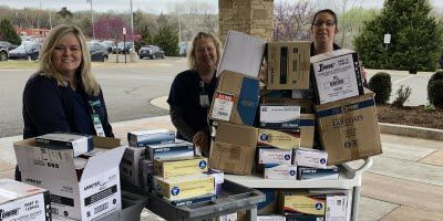 Forensic Science Institute Donates Medical Supplies for COVID-19 Fight